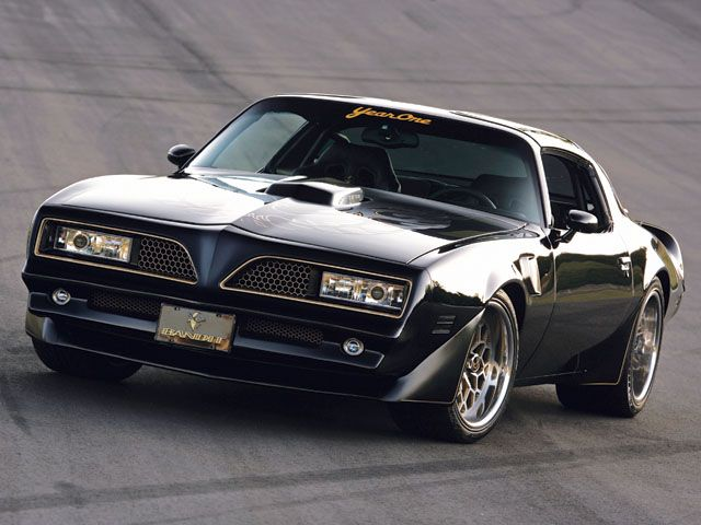 The Year One Burt Reynolds Edition 77 Trans Am Vintage Whips