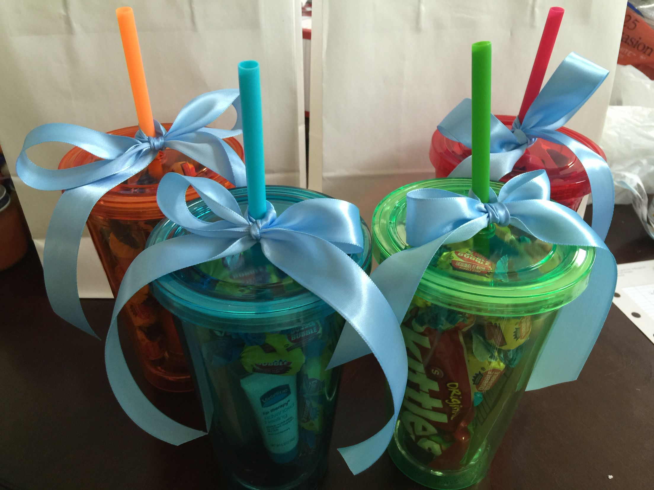 Unisex prizes for baby shower games