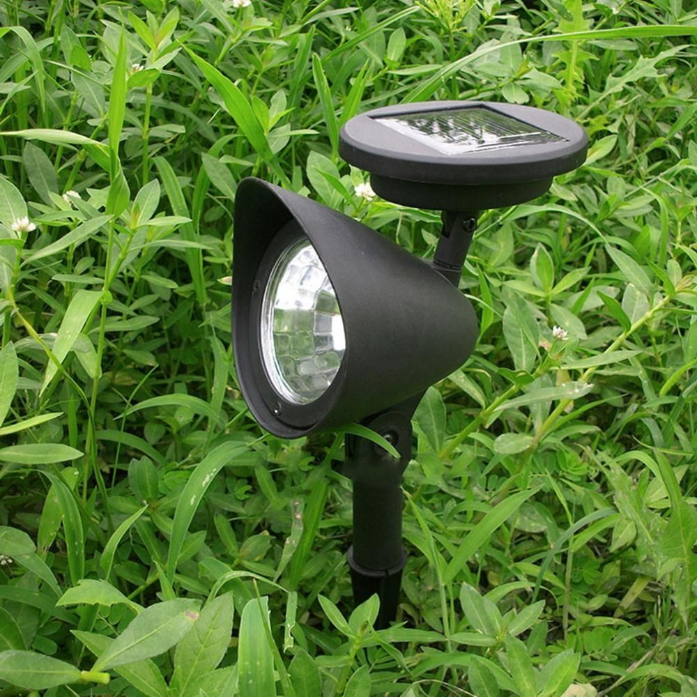 Solar 3 Led Garden Lamp Spot Light Party Path Outdoor Spotlight Lawn Landscape Home De Solar Powered Spotlight Outdoor Solar Lights Outdoor Gardens Landscaping