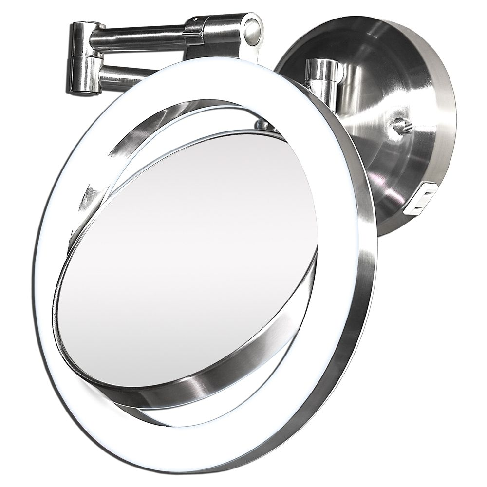 Wall Mounted Magnifying Mirror 10x | http://drrw.us | Pinterest ...