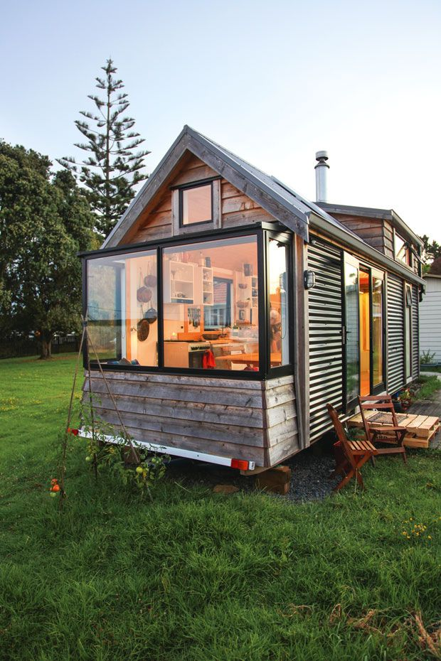 Video: Sustainable living in a tiny house on wheels, take a tour of Cam and Amanda's sweet tiny home