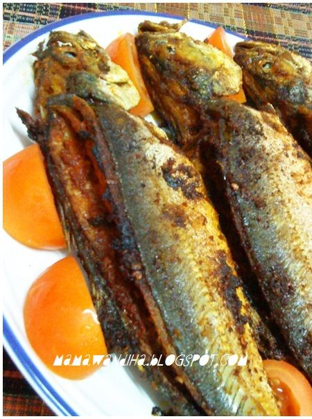 Dari Dapur Madihaa Ikan Cencaru Sumbat Sambal Delicious Seafood Recipes Sambal Fish Dishes
