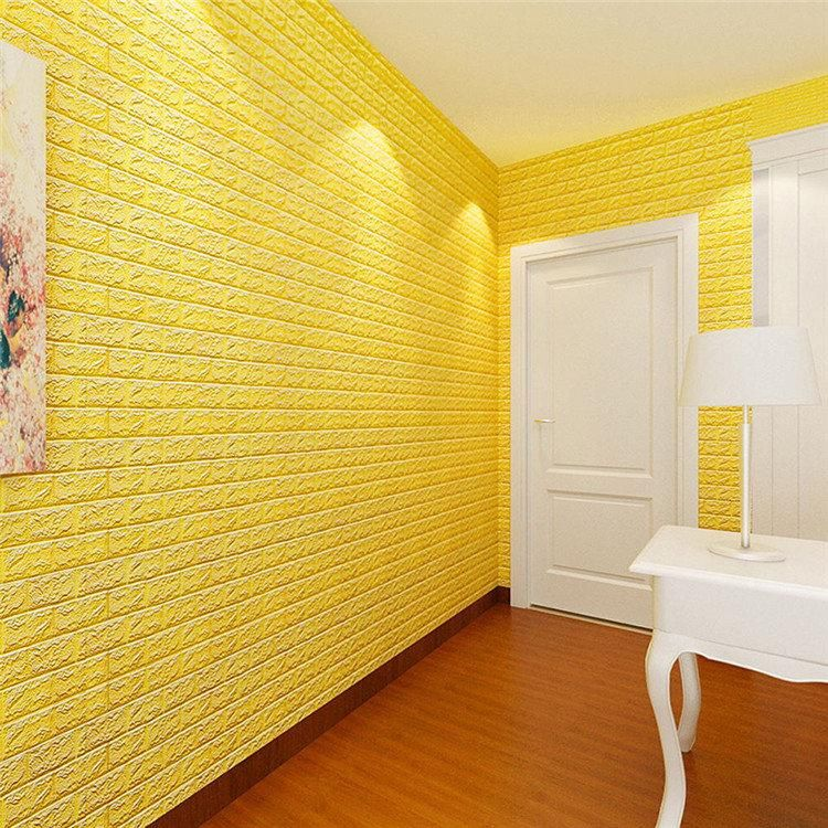 PE Foam 3D Wall Stickers Safty Home Decor DIY Wallpaper