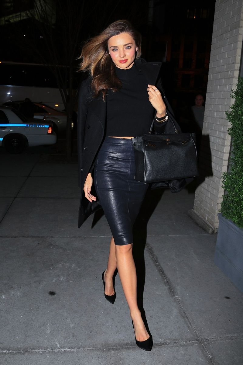 Buy Get the look celeb leather skirts pictures trends