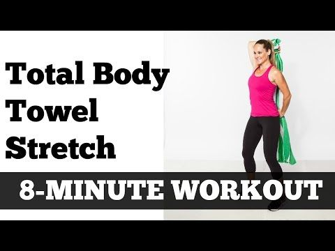 8minute total body stretching routine  flexibility
