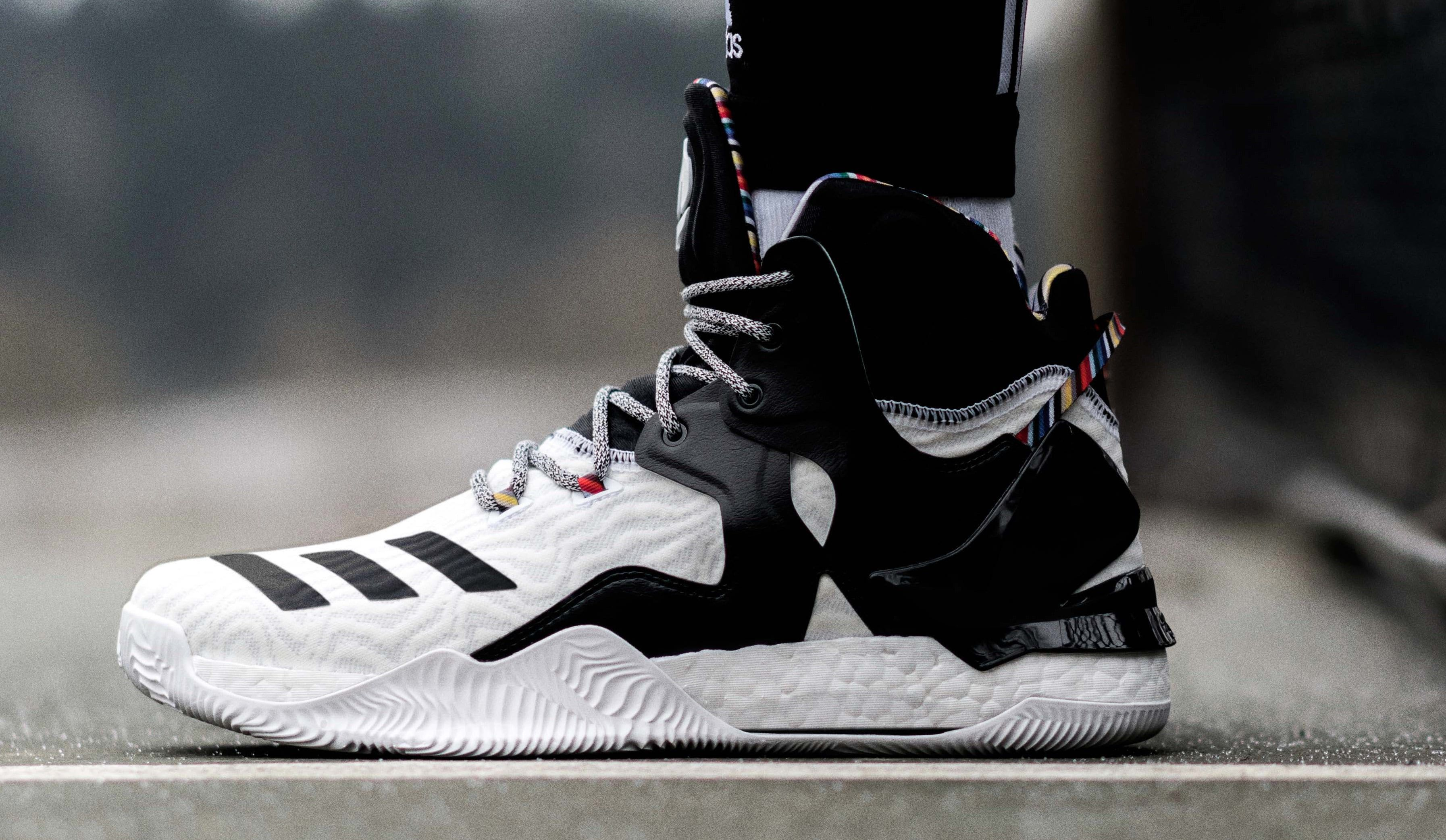 reputable site 15437 77986 Adidas D Rose 7 BHM Arthur Ashe