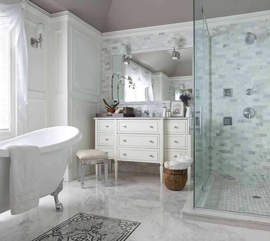 Abode Li Bathroom Carrera Tile
