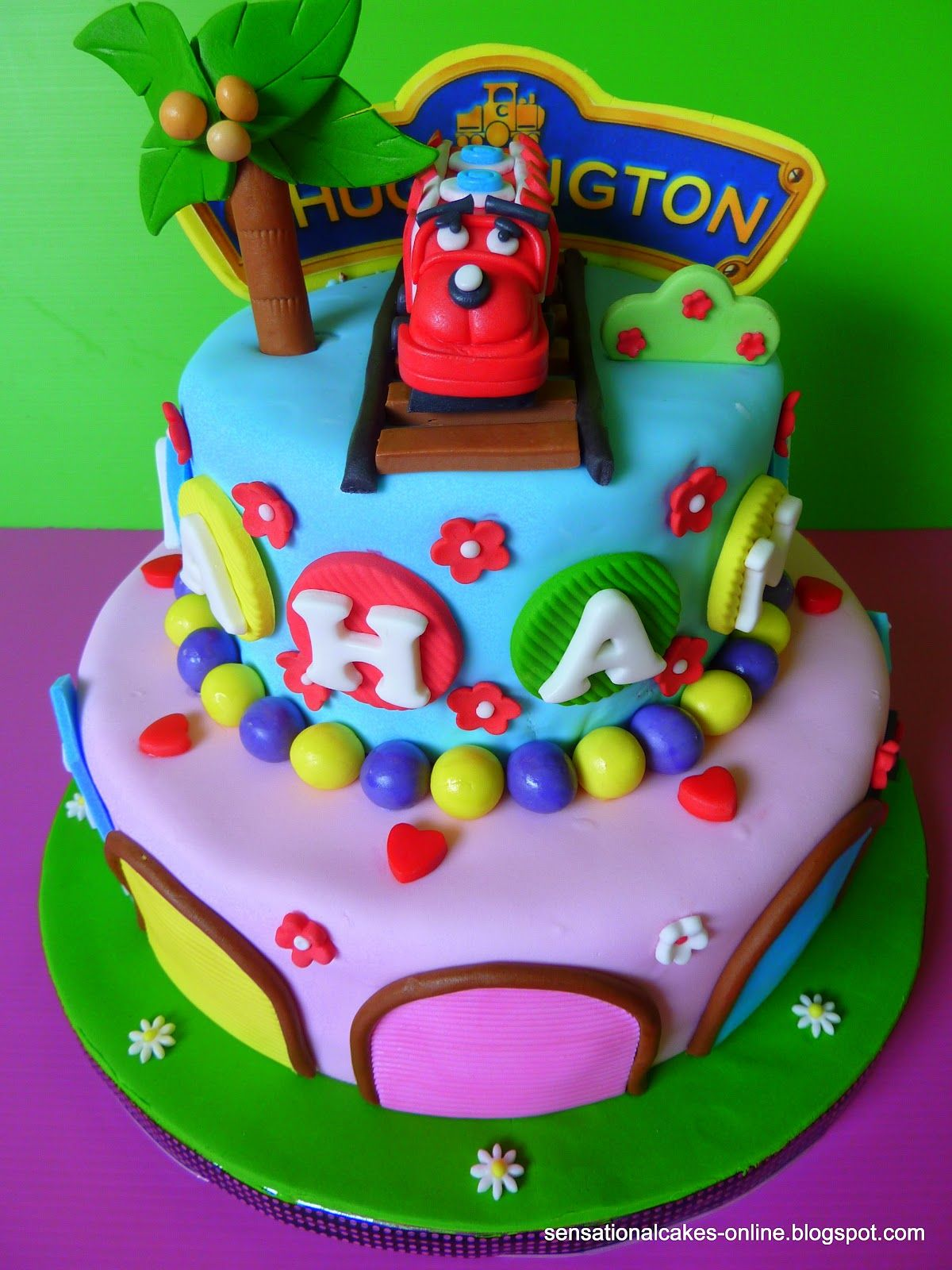 Girl Chuggington cake Cake Pinterest Chuggington cake