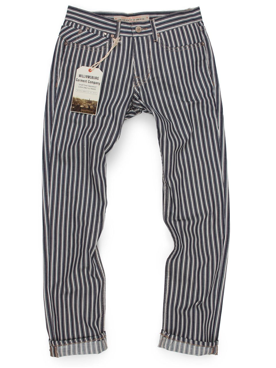 American Made Men's Engineer Stripe Pants (Made in USA painter or ...