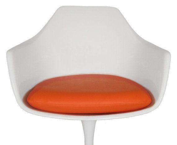 Vinyl Replacement Cushion For Saarinen Or Burke Tulip Arm Chair