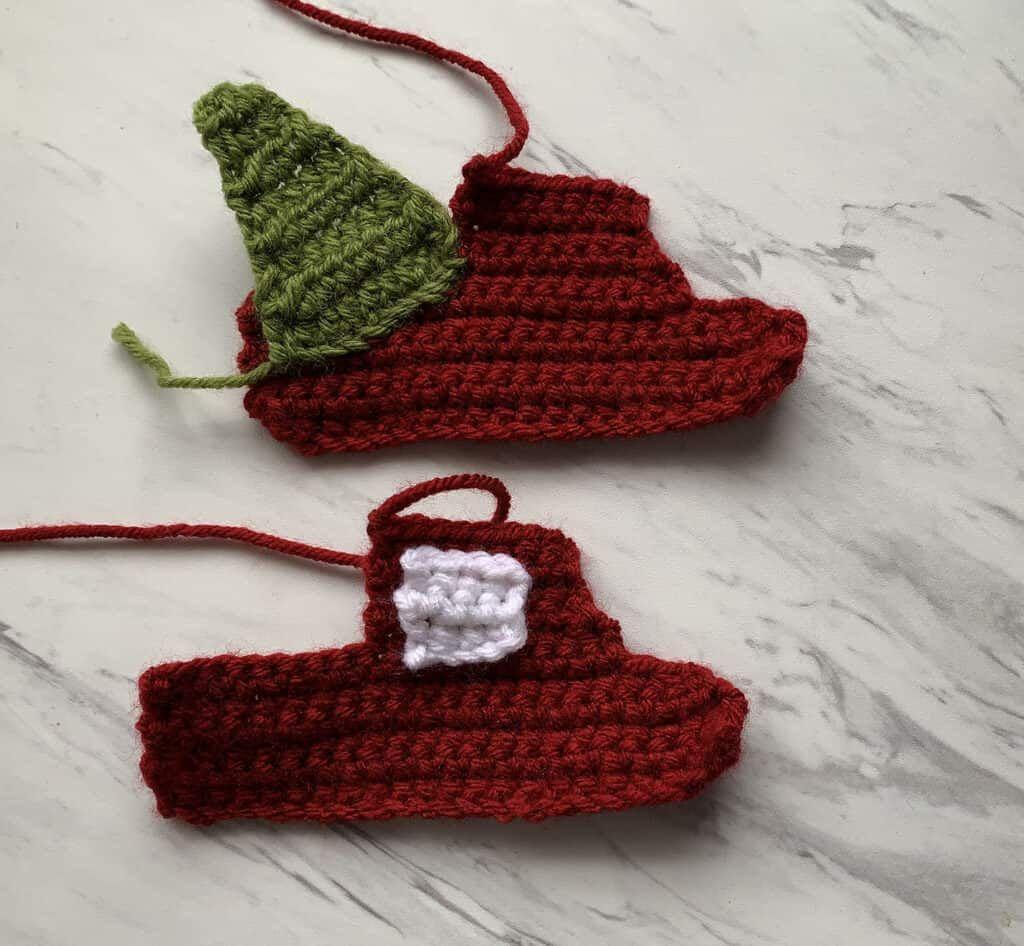 Crochet red truck ornament free pattern in 2020