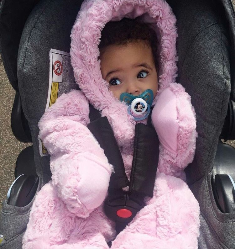 Pin by 𝐄𝐥𝐞𝐤𝐭𝐫𝐚 on Princess Black baby girls, Mix baby