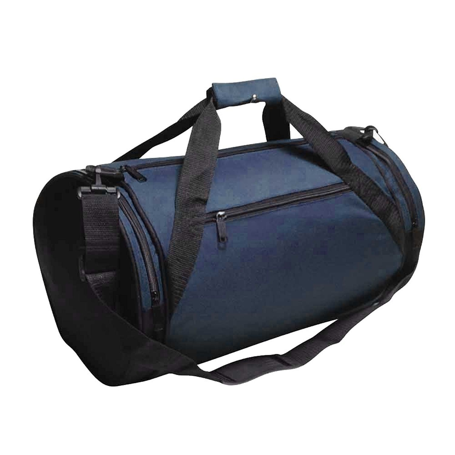 NAVY ROUND AFFORDABLE DUFFEL BAGS