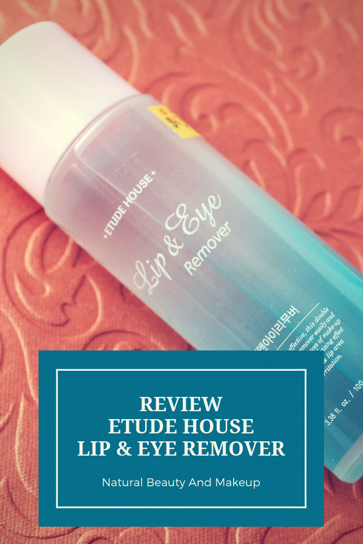 Review of Etude house Lip & Eye Remover on