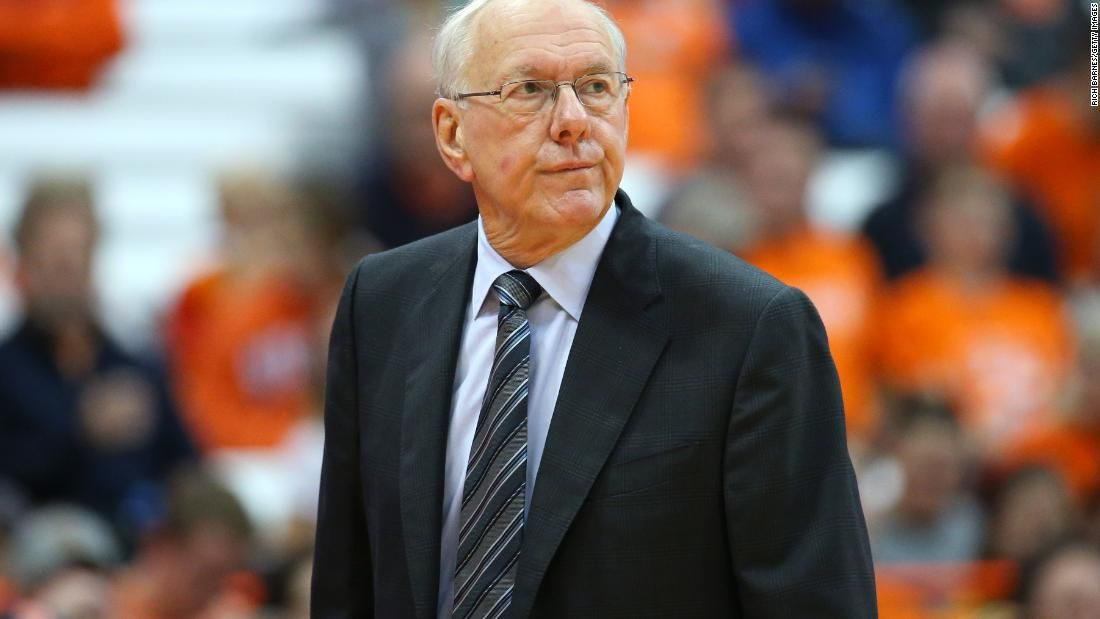 Syracuse Basketball Coach Jim Boeheim Hits Kills Man Walking On Interstate Cnn Syracuse Basketball Coach Jim Jim Boeheim Syracuse Basketball Basketball Coach