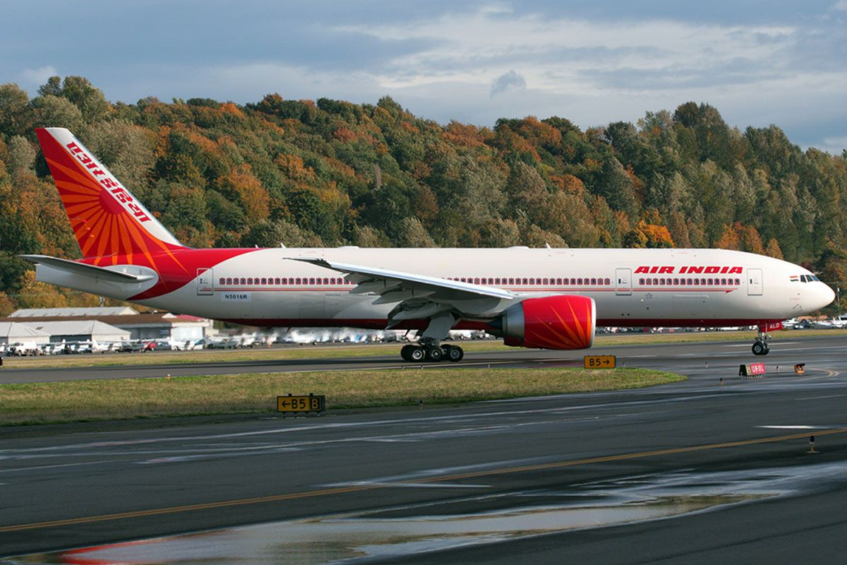 FROM GOLDEN GATE TO INDIA GATE — SILICONEER Air india