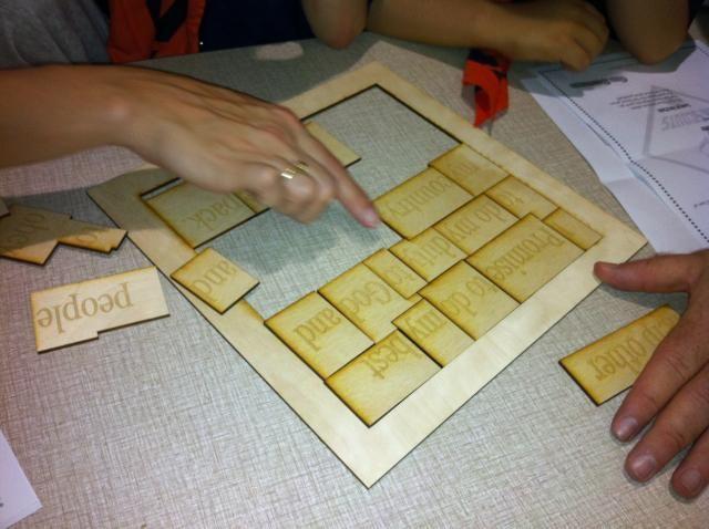 Cub Scout promise puzzle