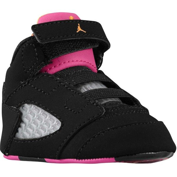 408306208b046e Jordan Retro 5 Girls  Infant ( 45) ❤ liked on Polyvore featuring baby