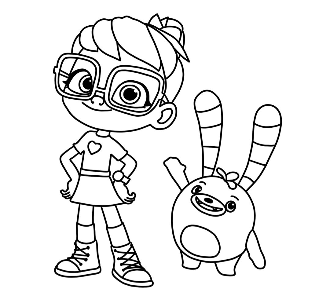 Aby Hatcher Free Coloring Cartoon Coloring Pages Coloring Pages Coloring For Kids