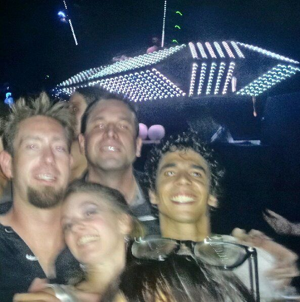 Inside Skylab with some friends, We lost about 1/2 of them haha
