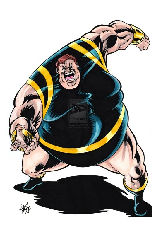 Blob X Men Villain Brotherhood Of Evil Mutants Marvel Comic Character Comic Villains Marvel Characters