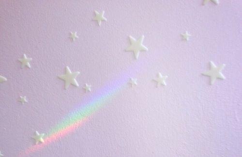 Bedroom ceiling rainbow
