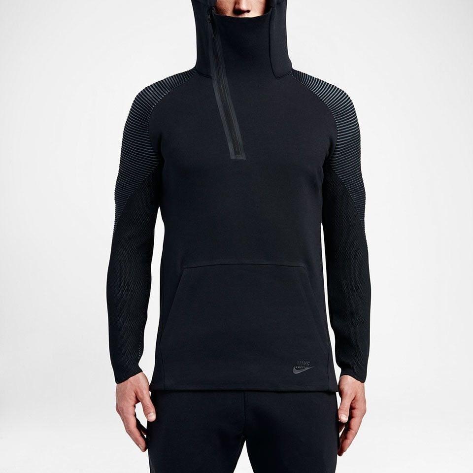 9585ea81cf443 Nike Sportswear Tech Fleece Hoodie Dynamic Reveal Black 805655-010 Men's  Sizes #Nike #Hoodie