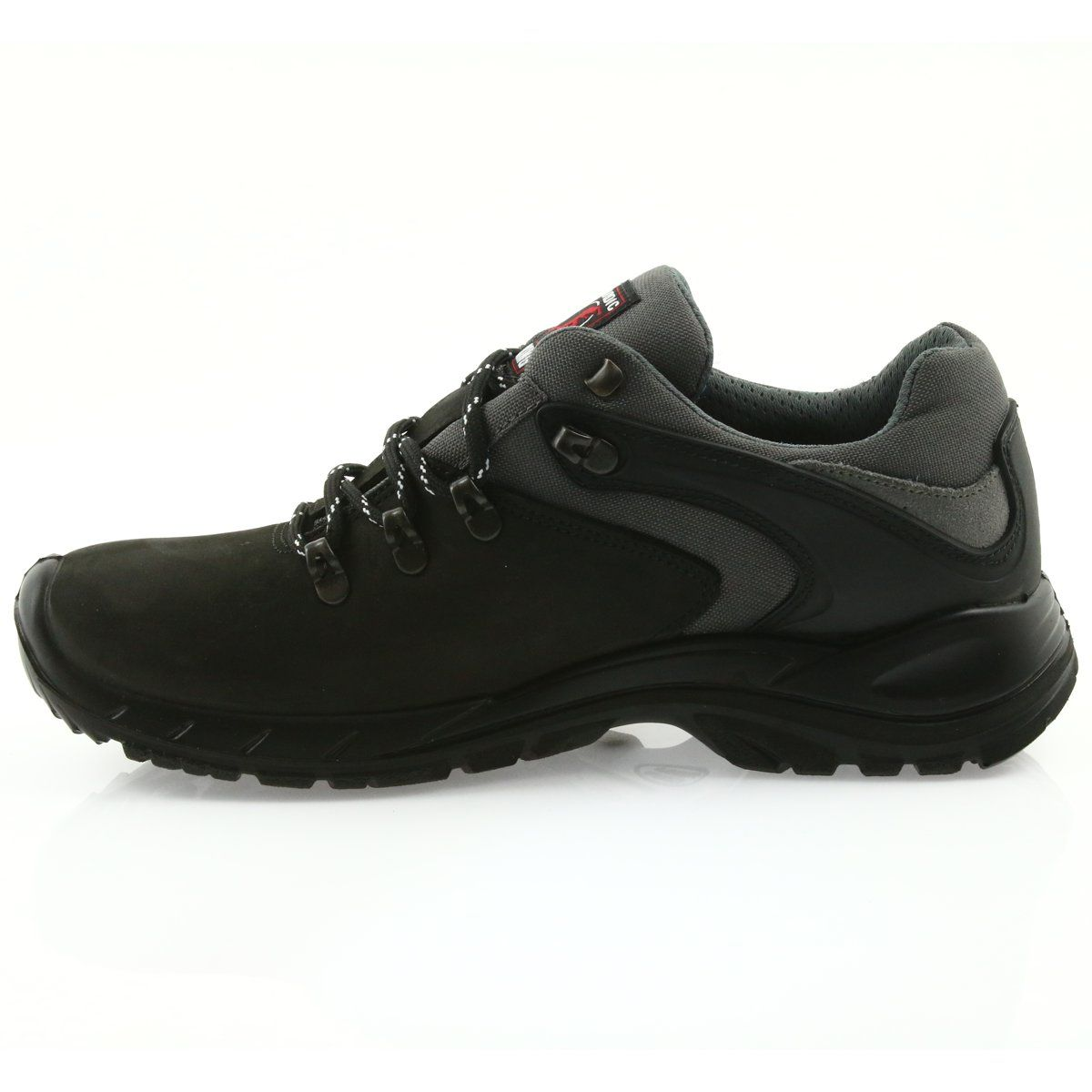 Sprandi Grisport Nordic Walking Czarne Z Membrana Nordic Walking All Black Sneakers Hiking Boots