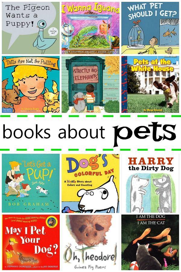 Books About Pets For Kids Fantastic Fun Learning Pets Preschool Theme Pets Preschool Kindergarten Pet Theme