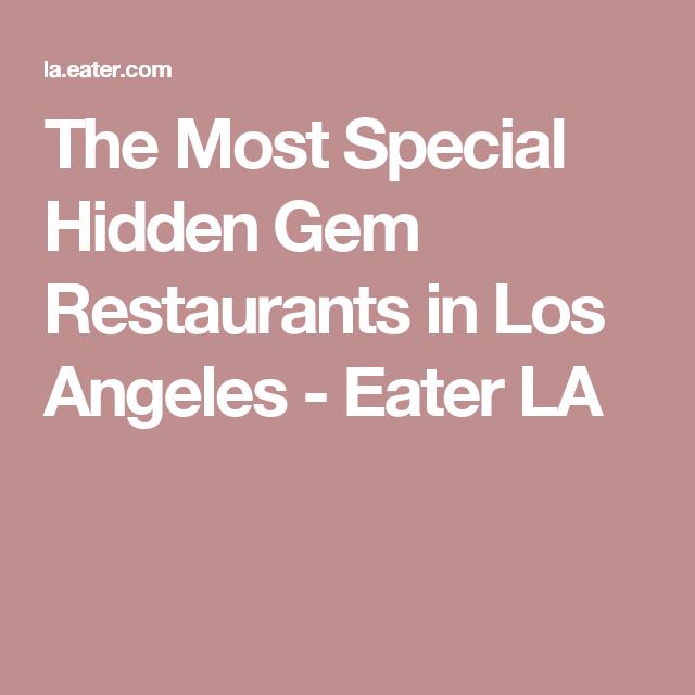 14 Wonderful Hidden Gem Restaurants In Los Angeles Gem Restaurant Restaurant Square Pizza
