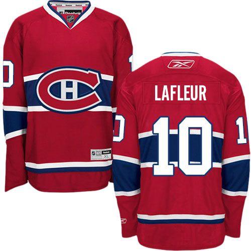 ... Reebok Guy Lafleur Mens Premier Red Jersey NHL Montreal Canadiens Home  ... eae24b3c9