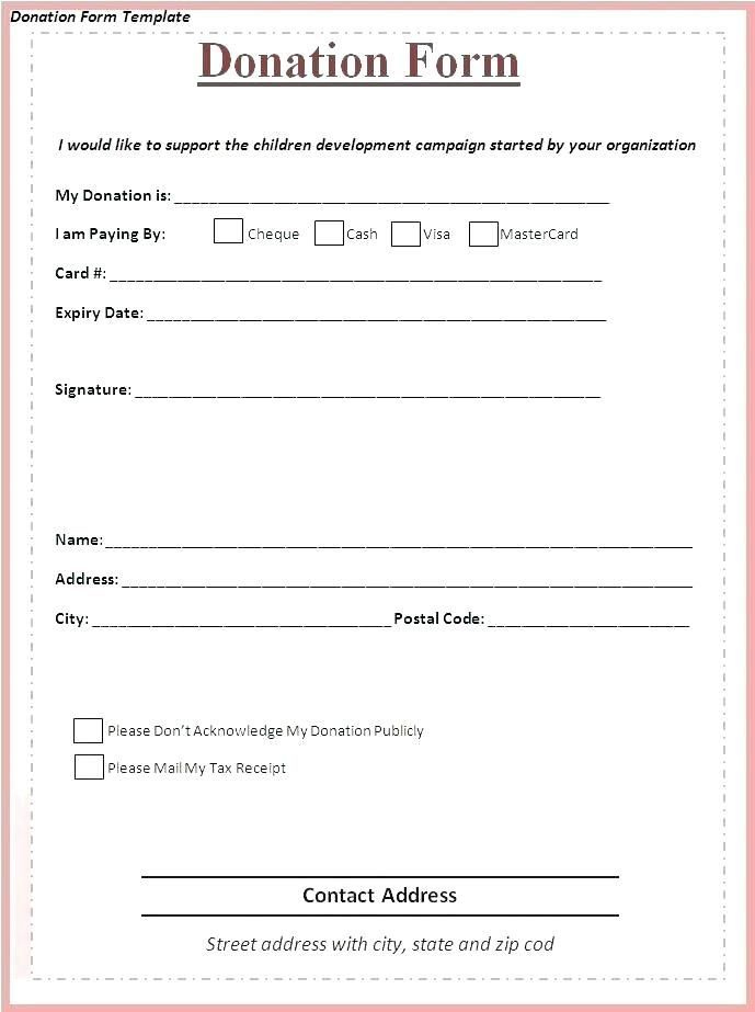 Fundraising Form Template Donation Form Sponsorship Form In Blank Sponsorship Form Template Donation Form Sponsorship Form Template Donation Request