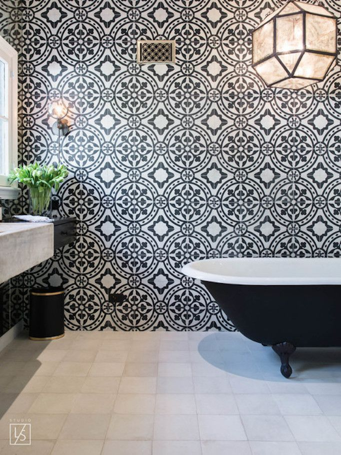 BECKI OWENS- Color Combinations: Black + White | tile | Pinterest ...