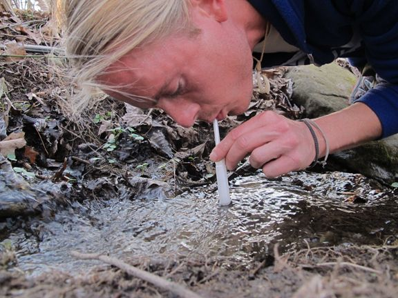 7 survival uses for tampons: http://willowhavenoutdoor.com/featured-wilderness-survival-blog-entries/yes-thats-a-tampon-in-my-mouth-the-swiss-army-survival-tampon-7-survival-uses/