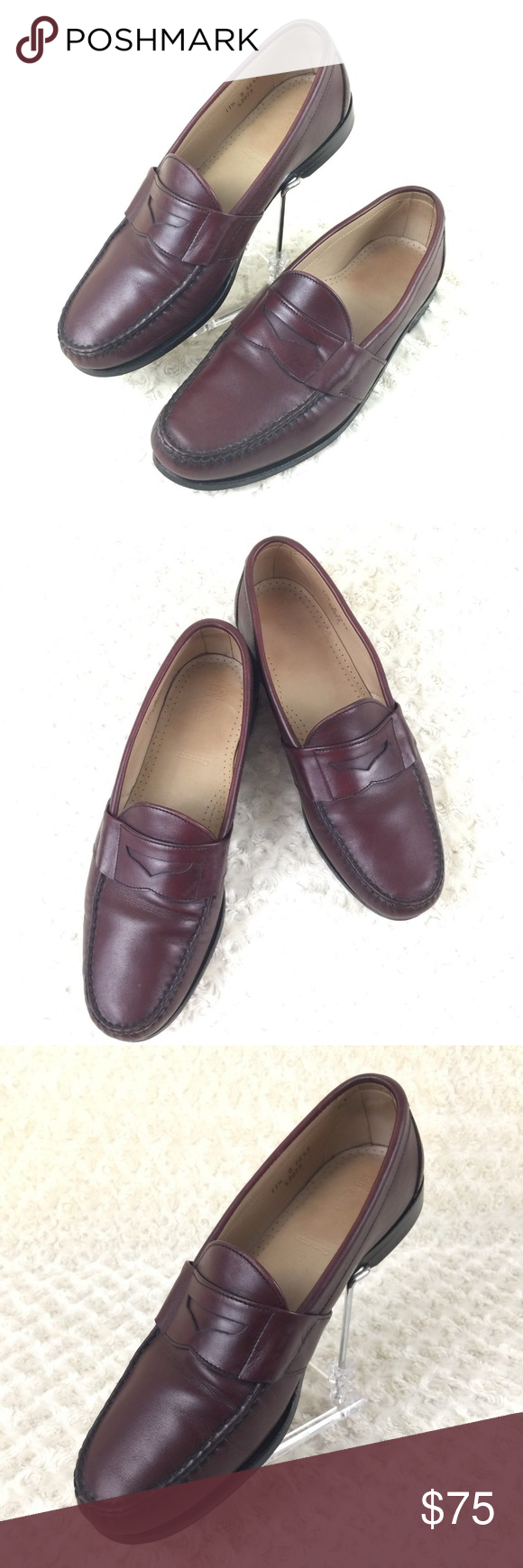331f5567b59 Allen Edmonds Cameron Penny Loafers Shoes Allen Edmonds Men s Genuine Leather  Penny Loafers Shoes Style