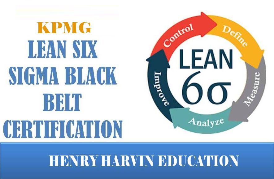 Lean Six Sigma Black Belt Certificate Is Awarded By Kpmg Which Is