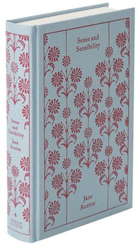 Sense and Sensibility by Jane Austen: Penguin clothbound classic designed by Coralie Bickford-Smith