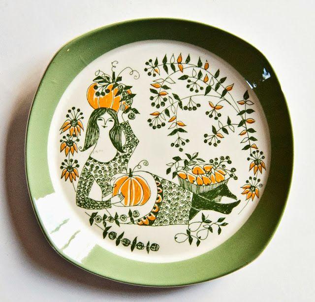 Figgjo Sicilia Retro Pottery Net In 2020 Scandinavian Ceramic Scandinavian Dinnerware Pottery