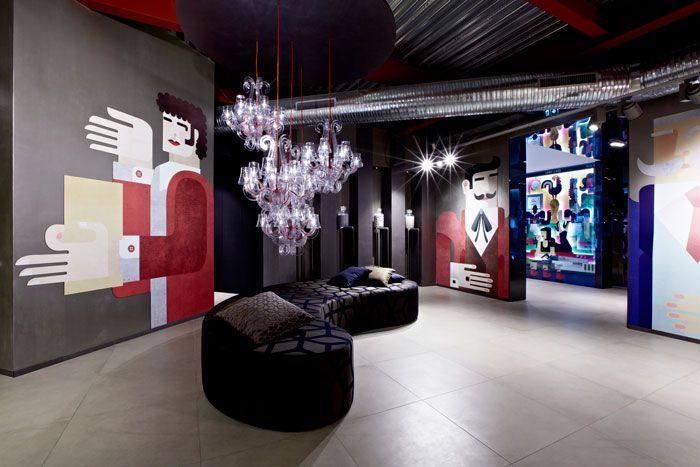 Novoceram Creates A New Multipurpose Venue Dedicated To Ceramics Retail Interior Design Store Design Showroom