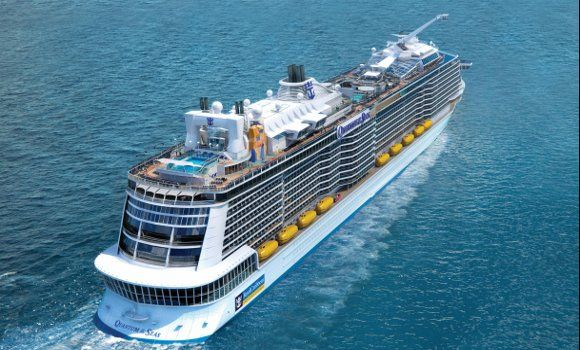 Nuevo barco de la clase Quantum en Royal Caribbean. Se sumará al Quantum y el Anthem y entrará a mediados de servicio en 2016.