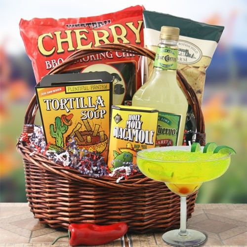South of the border great gift basket ideas pinterest basket party on girlfriend if you want to send a fun gift basket to one of your girlfriends for her birthday a get well or i miss you present you really need negle Image collections