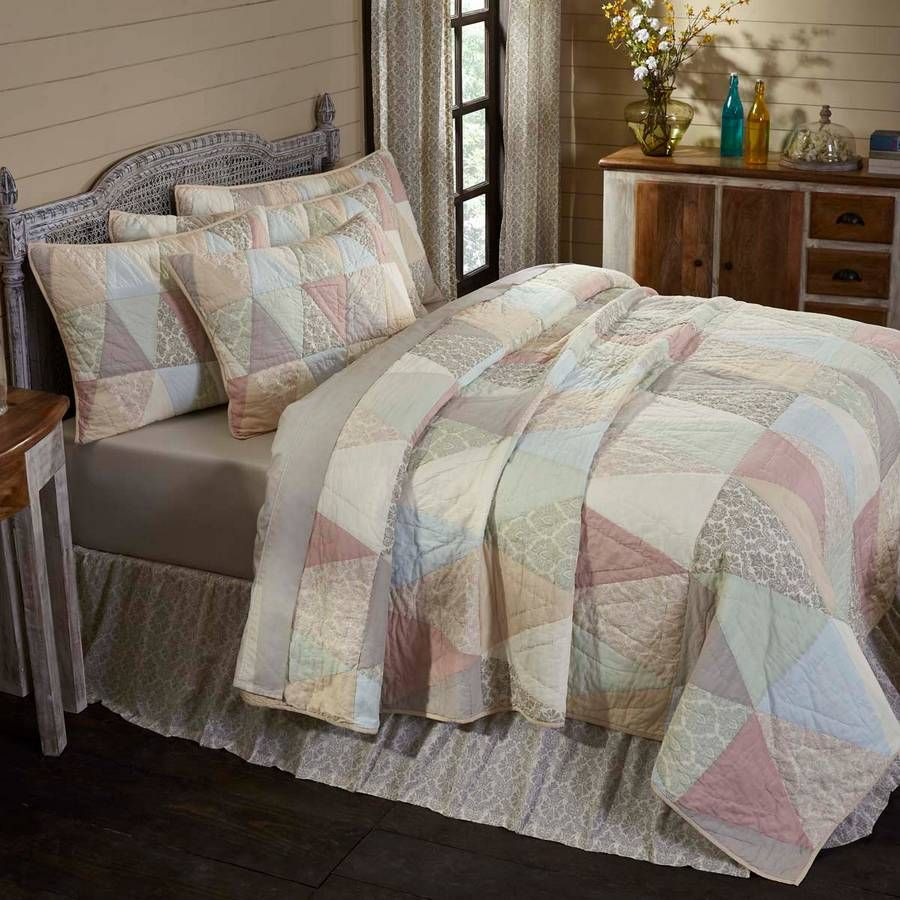Ava Luxury King Quilt 105 X 120 Farmhouse Bedding King Quilt Quilt Bedding