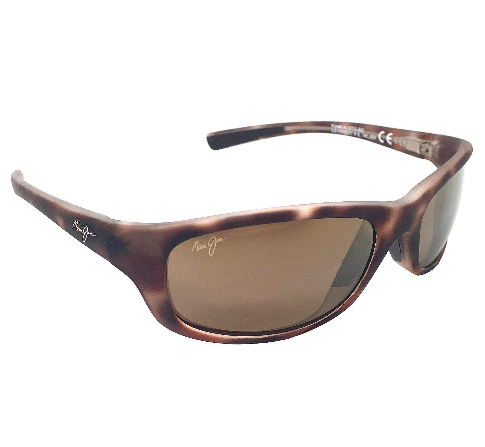 1b4779b70b Maui Jim Kipahulu H279-10MR Matte Tortoise Rubber  HCL Bronze Polarized  Sunglasses