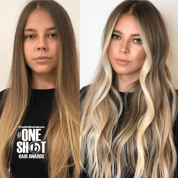 Who can say no to bright, gorgeous blonde highlights? We sure can't! Click here to get the formulas and steps to this stunning look!
