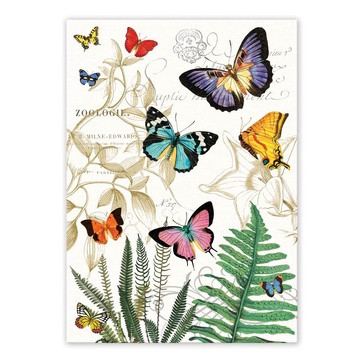 Michel Design Decorative Kitchen Towel Papillon Butterflies With