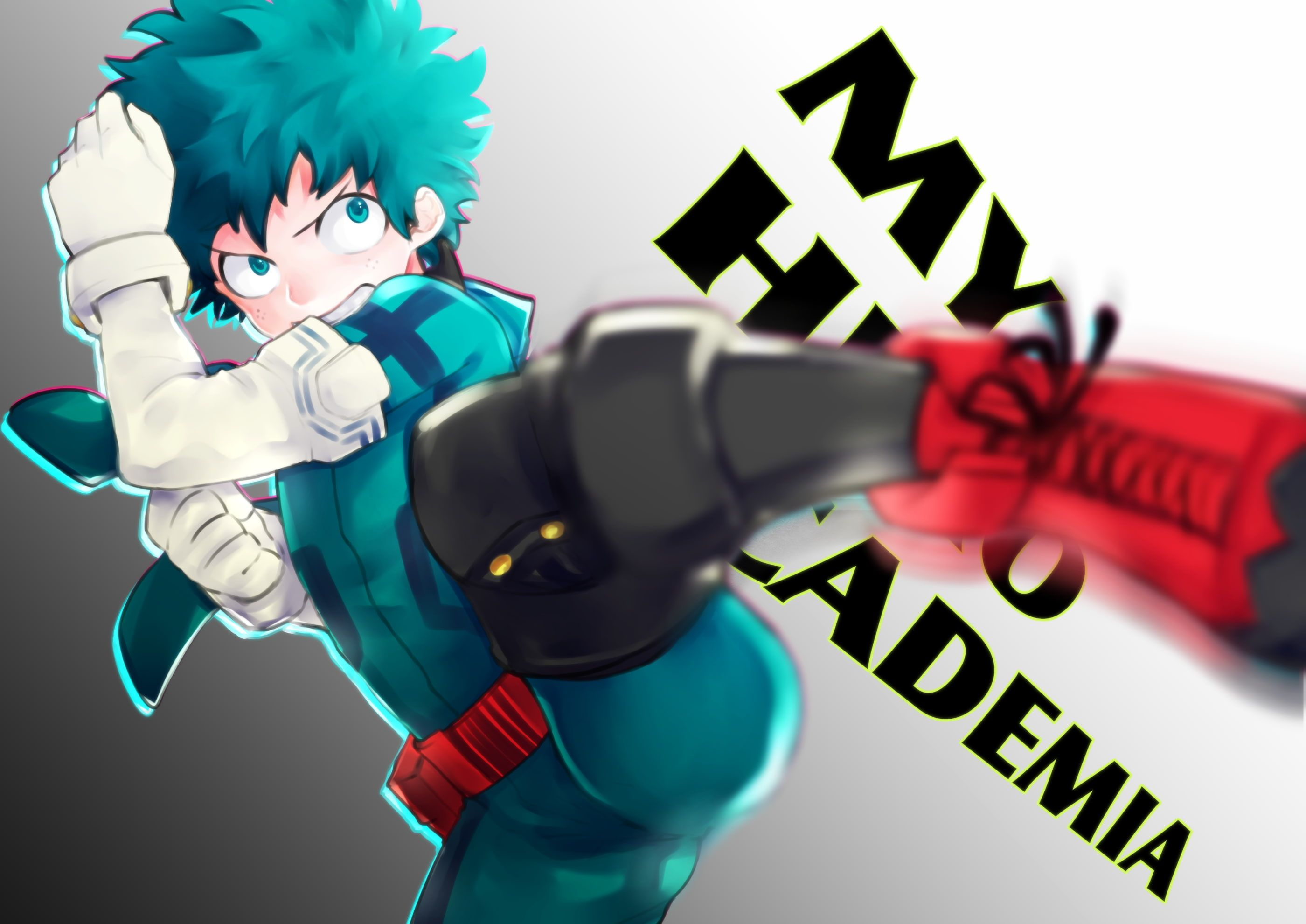 Boku No Hero Academia Izuku Midoriya Bodysuit Kick Fight Anime 2k Wallpaper Hdwallpaper Desktop Boku No Hero Academia My Hero Academia My Hero