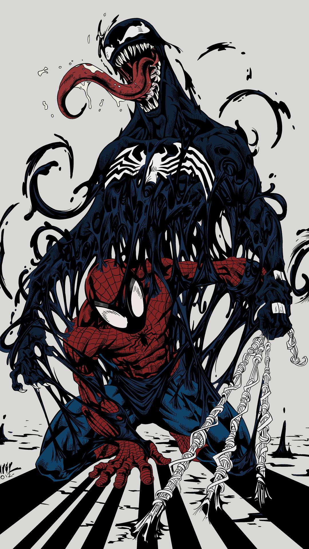 SpiderMan & Venom •DC VS MARVEL• Pinterest Venom