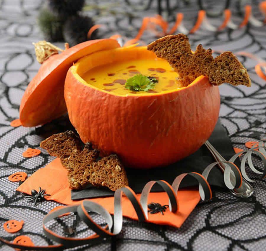 Soupe d'Halloween au thermomix » Halloween #halloweenrezepte