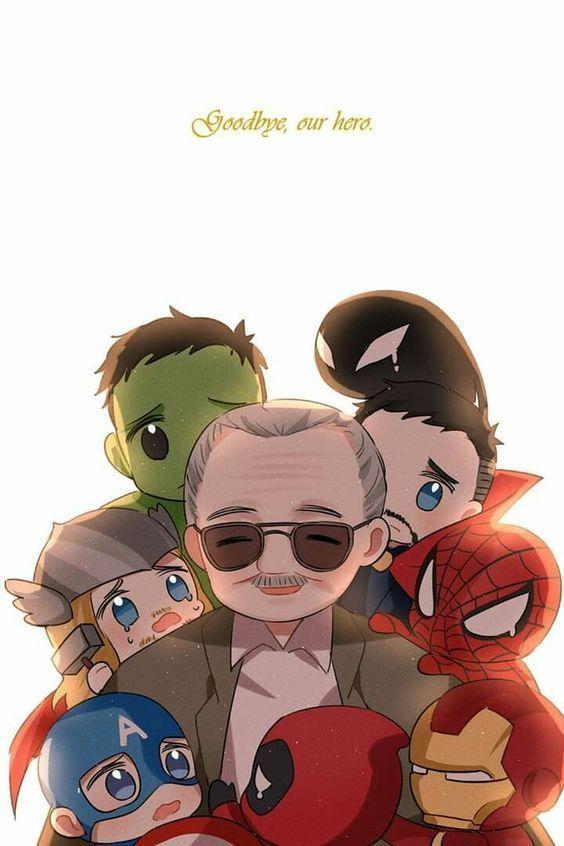 Memes de Memória Hot Stan Lee 15