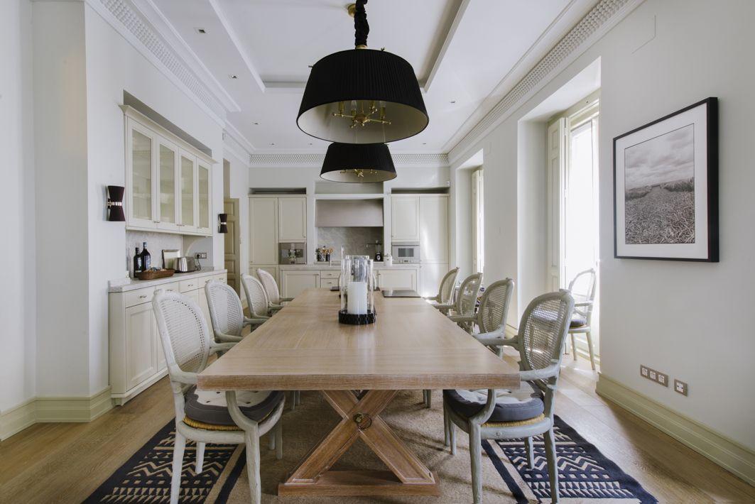 Ideas de #comedor, cocina, estilo #clasico color #beige, #marron ...
